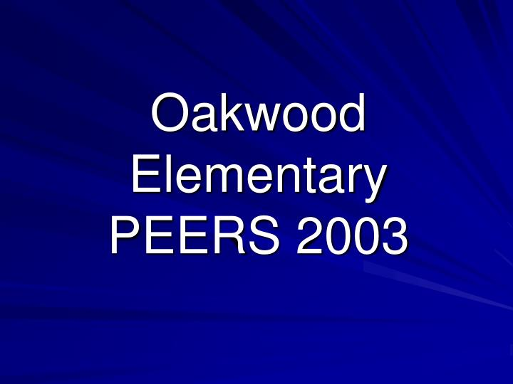 Oakwood Elementary