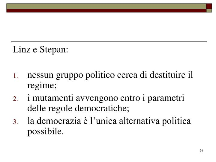 Linz e Stepan: