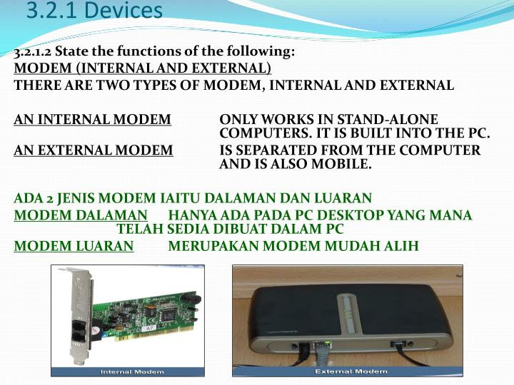 3.2.1 Devices