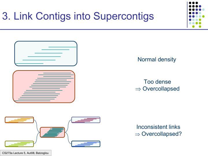3. Link Contigs into Supercontigs