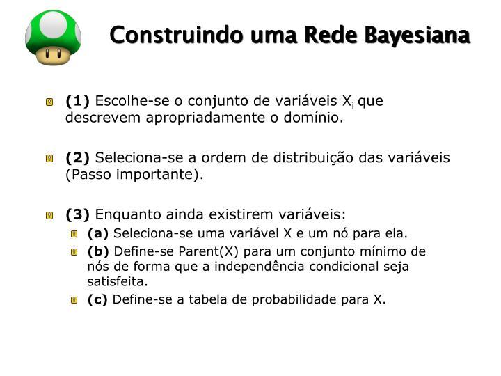 Construindo uma Rede Bayesiana