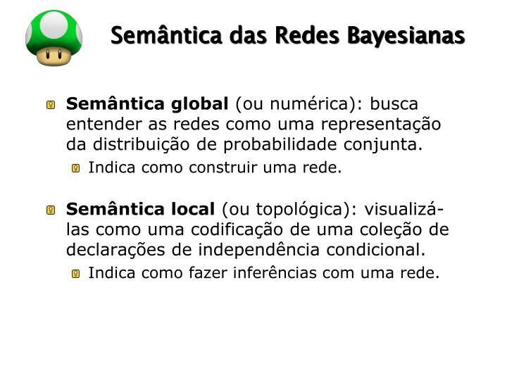 Semântica das Redes Bayesianas