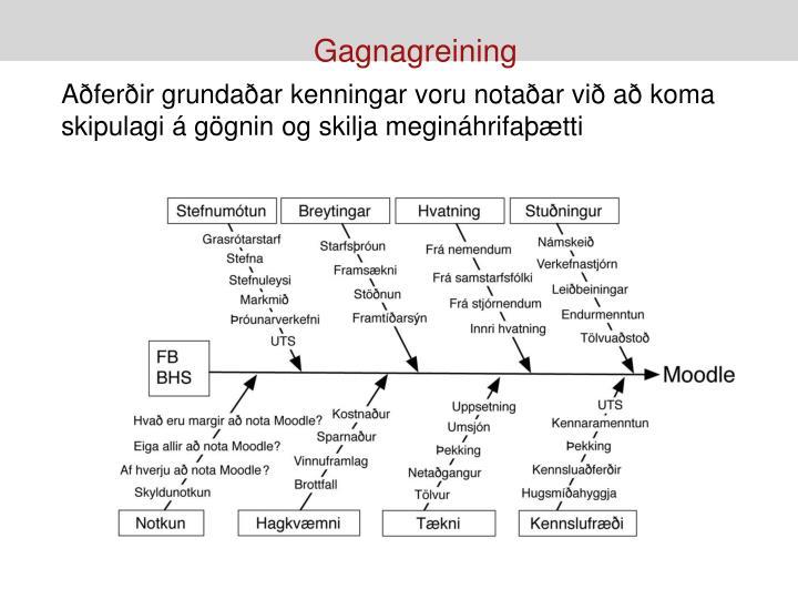 Gagnagreining