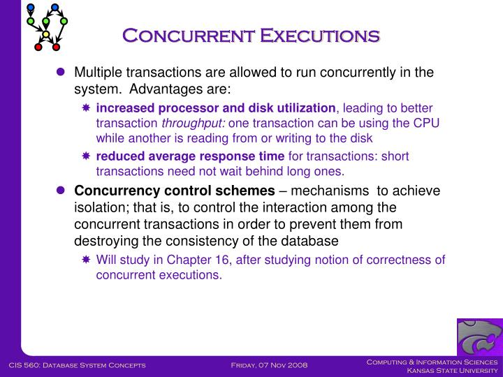 Concurrent Executions