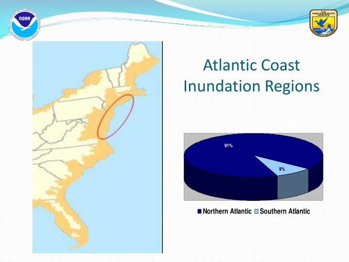 Atlantic Coast Inundation Regions