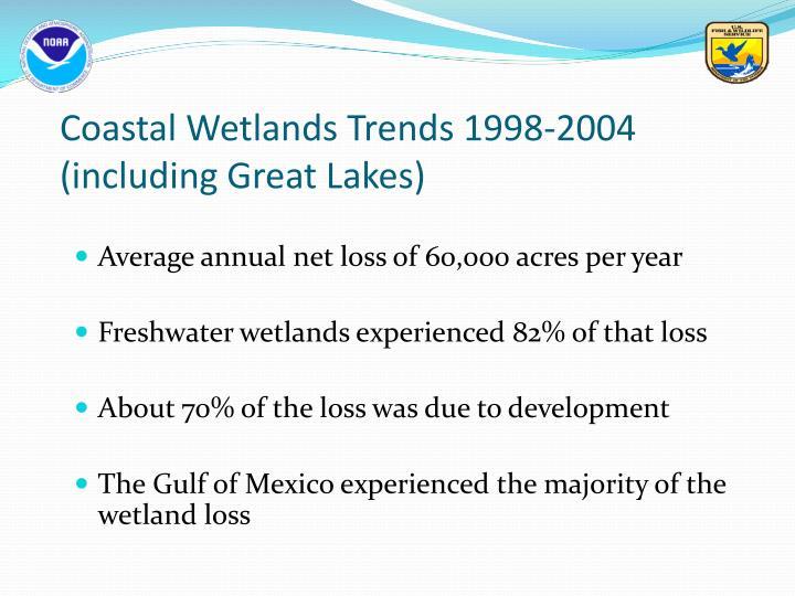 Coastal Wetlands Trends 1998-2004