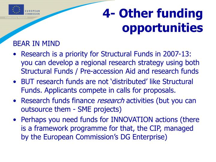 4- Other funding