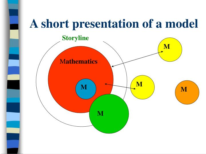 A short presentation of a model