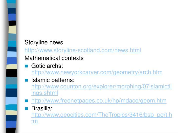 Storyline news