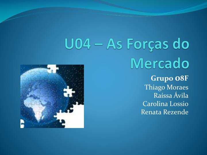 U04 – As Forças do Mercado
