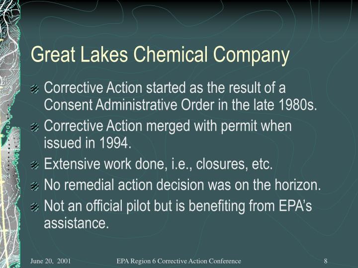 Great Lakes Chemical Company