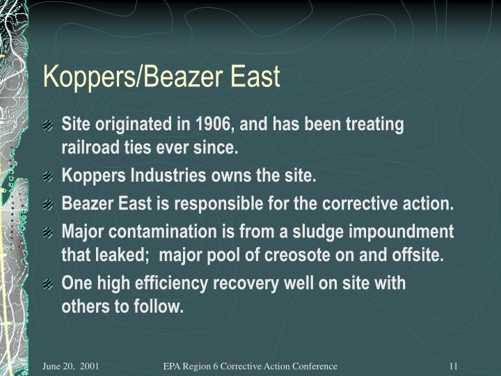 Koppers/Beazer East