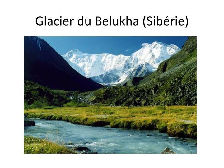 Glacier du Belukha (Sibérie)