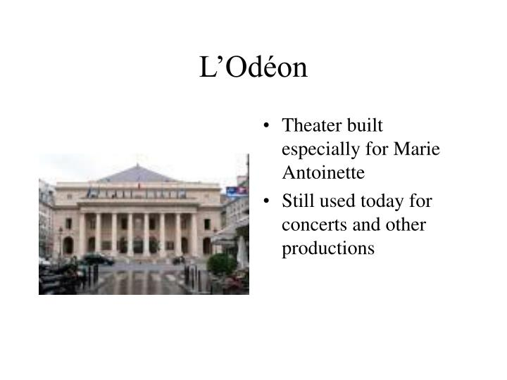 L'Odéon