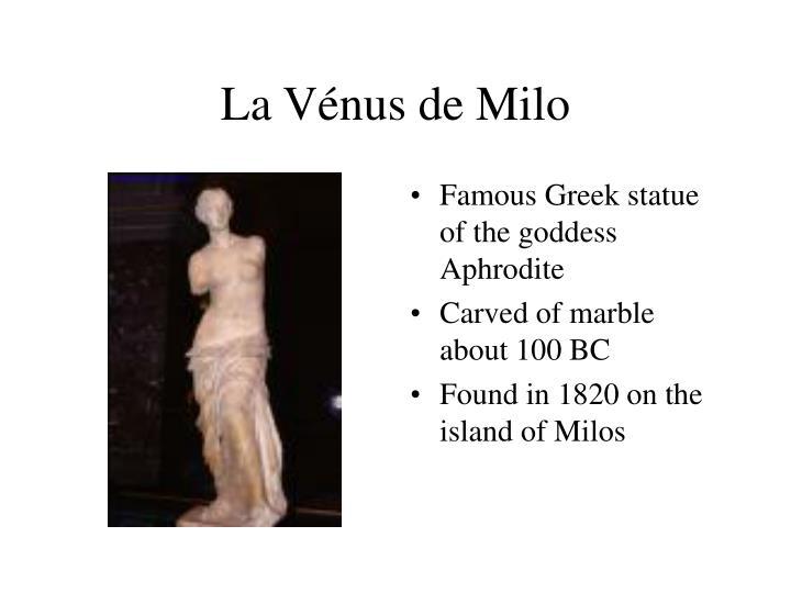 La Vénus de Milo