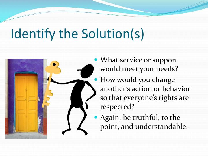 Identify the Solution(s)