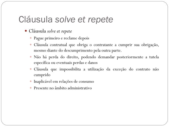 Cláusula