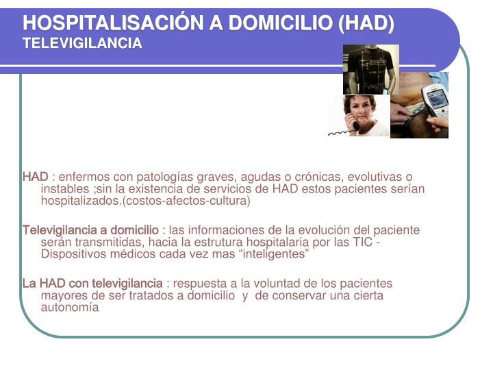 HOSPITALISACI