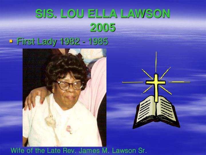 SIS. LOU ELLA LAWSON