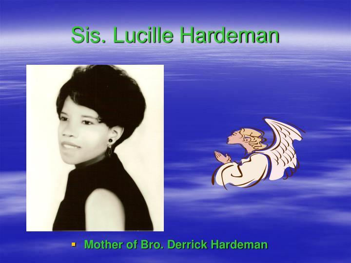Sis. Lucille Hardeman