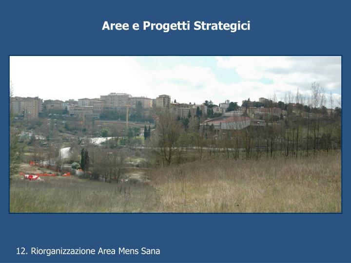 Aree e Progetti Strategici