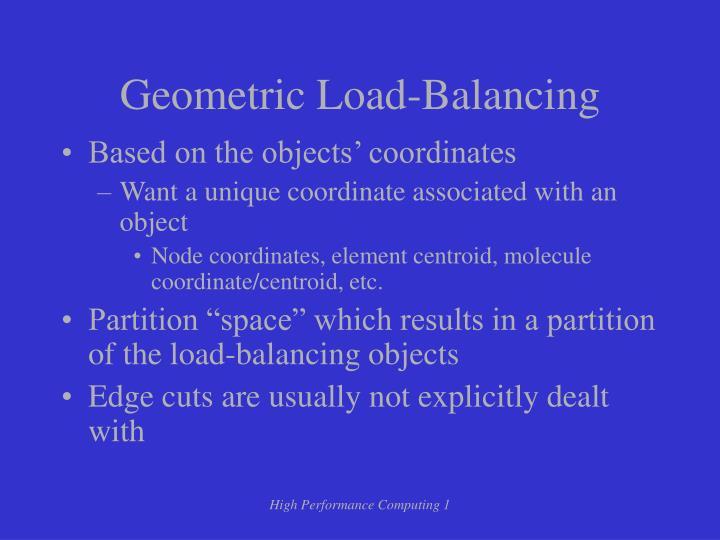 Geometric Load-Balancing