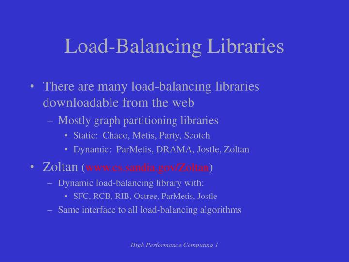 Load-Balancing Libraries