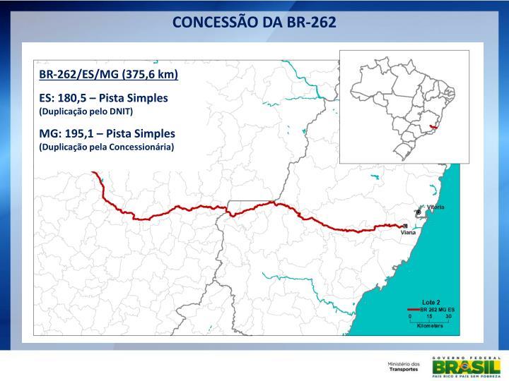 CONCESSÃO DA BR-262