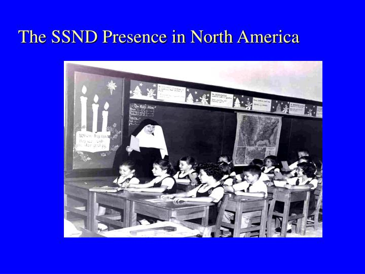 The SSND Presence in North America