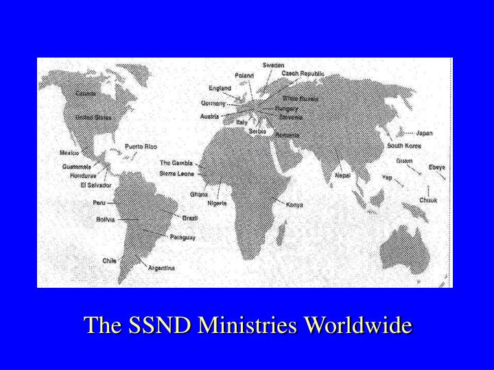 The SSND Ministries Worldwide