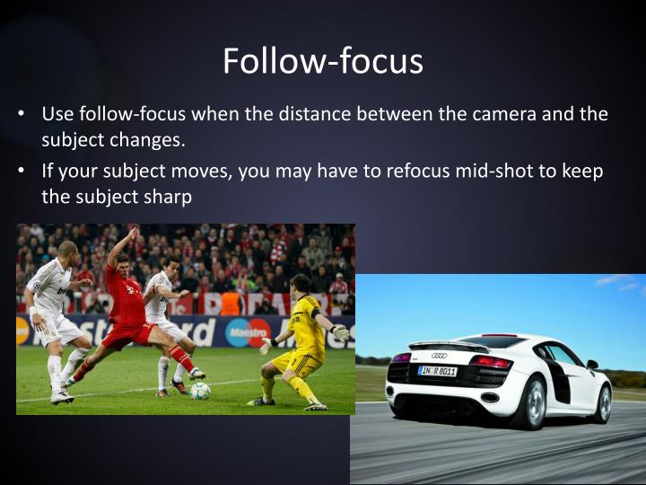 Follow-focus