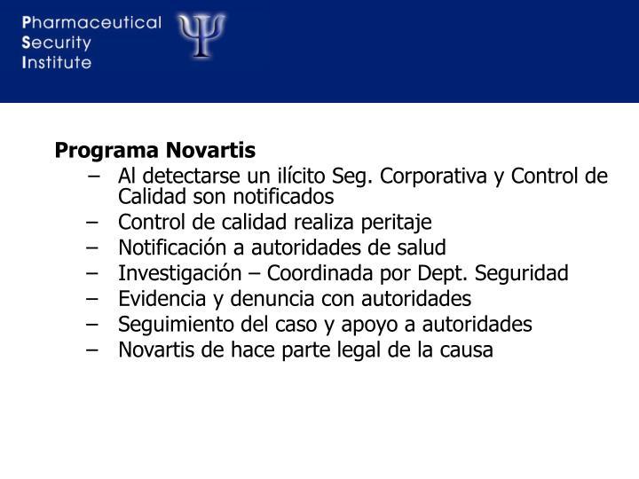 Programa Novartis