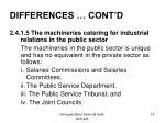 differences cont d4
