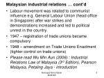 malaysian industrial relations cont d1
