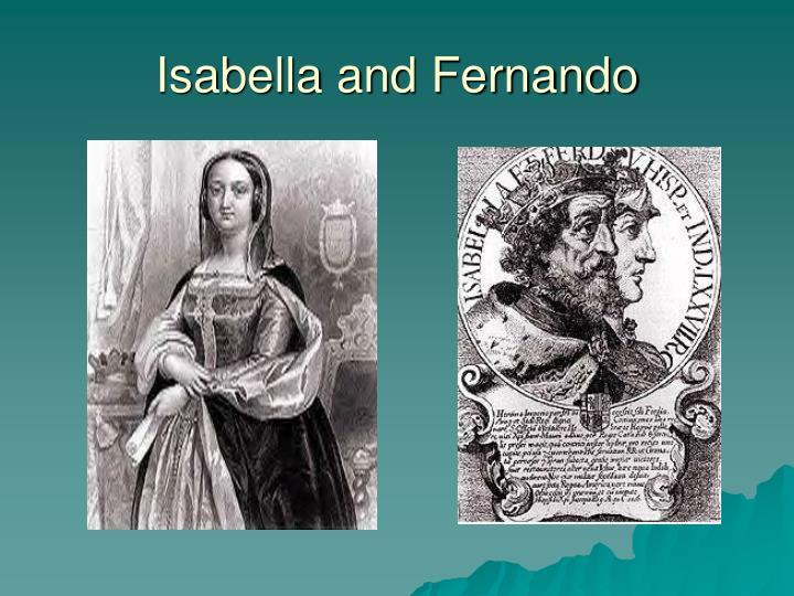 Isabella and Fernando