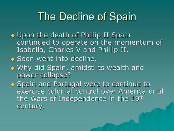 The Decline of Spain