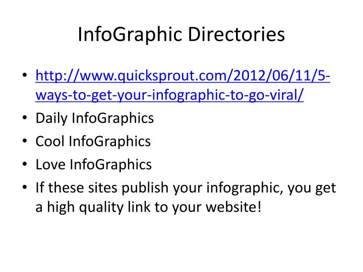 InfoGraphic Directories