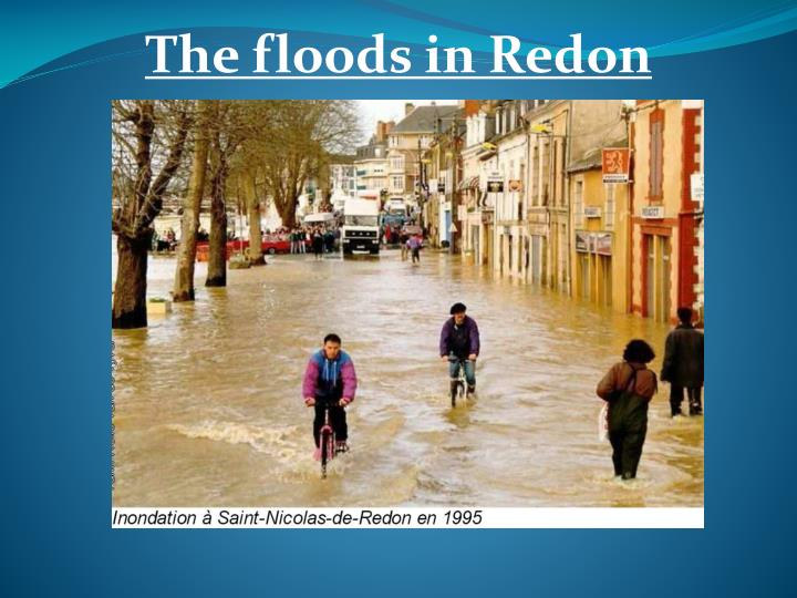 The floods in Redon