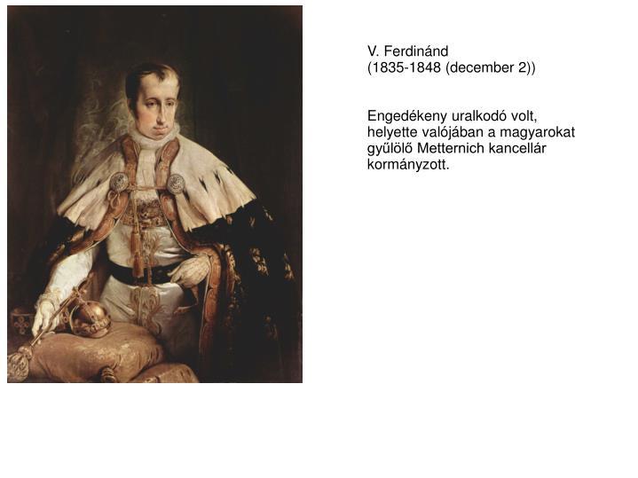 V. Ferdinánd