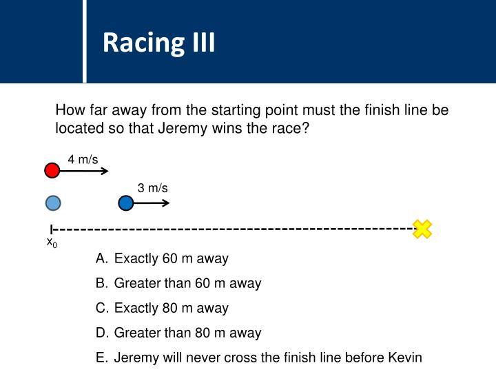 Racing III