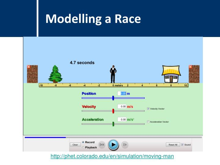 Modelling a Race