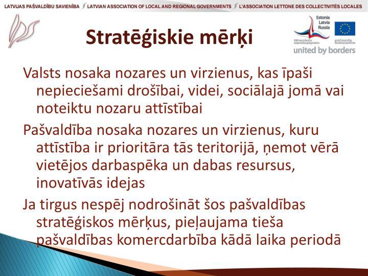 Stratēģiskie mērķi