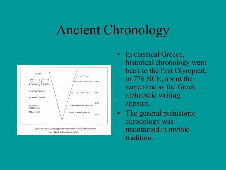 Ancient Chronology