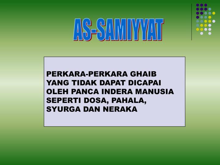AS-SAMIYYAT
