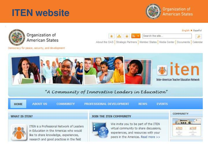ITEN website