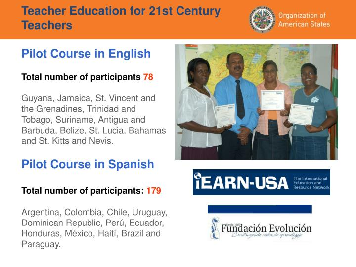 Teacher Education for 21st Century Teachers