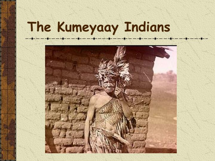 The kumeyaay indians