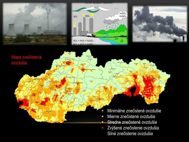 Mapa znečistenia ovzdušia