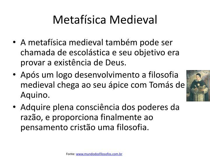 Metafísica Medieval