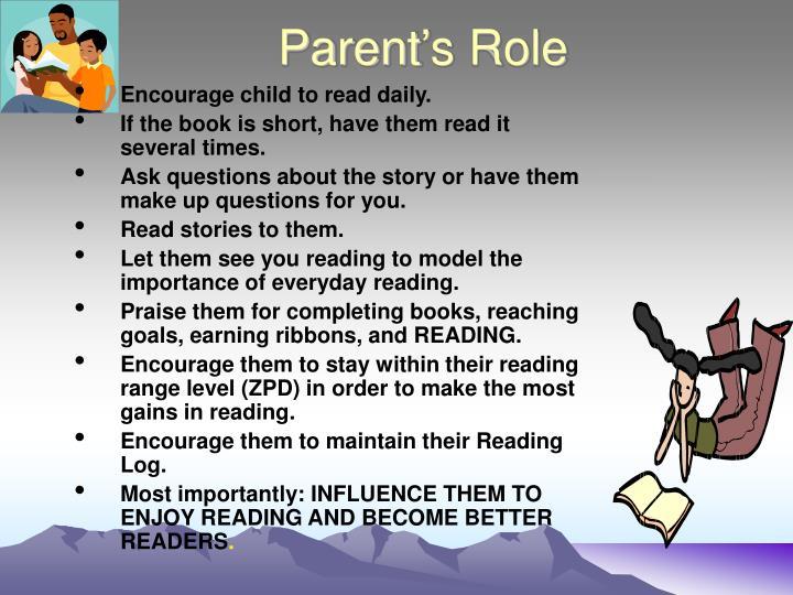 Parent's Role